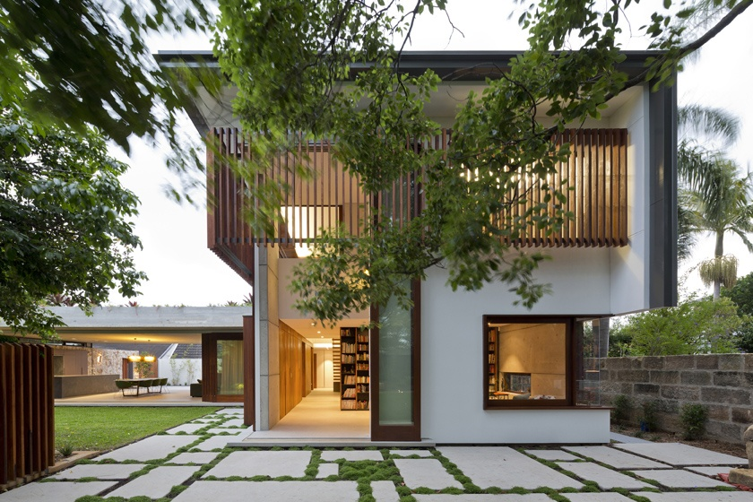 Hunters Hill House by Arkhefield. Image. Angus Martin