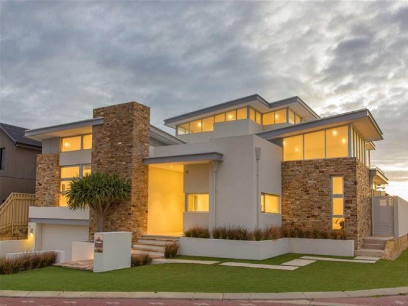 Iluka designed for a modern family Estate home designs