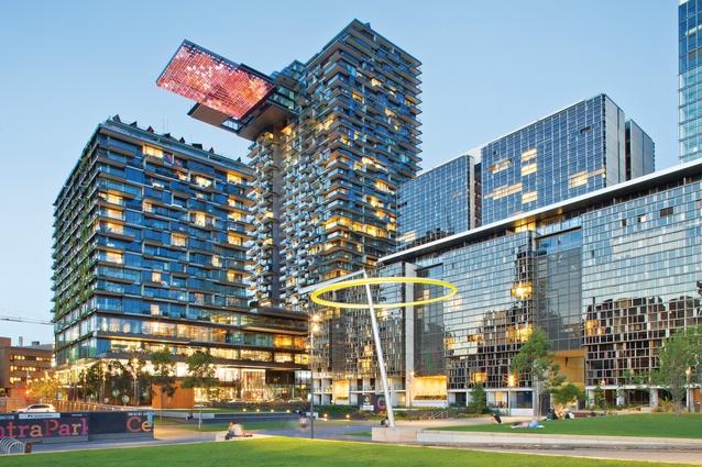 design-estate Built Design Urban Development Awards 2015 One Central Park Designed by Ateliers Jean Nouvel Image Simon Wood