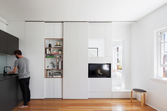 design-estate Built Design Darlinghurst Apartment by Brad Swartz. Image. Katherine Lu