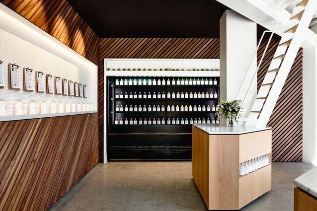 design-estate Built Design Greene St Juice Co. by Travis Walton Architecture And Interior Design. Image. Derek Swalwell