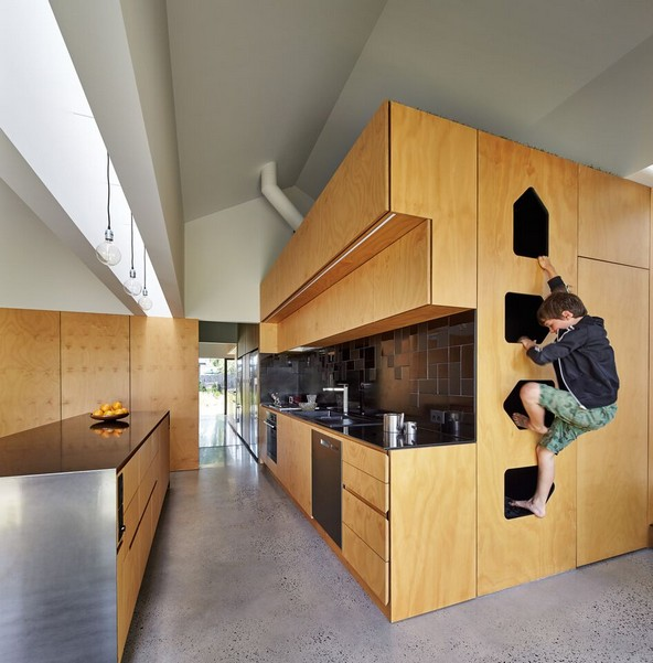 design-estate Designer Living Tower Home by Andrew Maynard Architects Photo Peter Bennetts 13