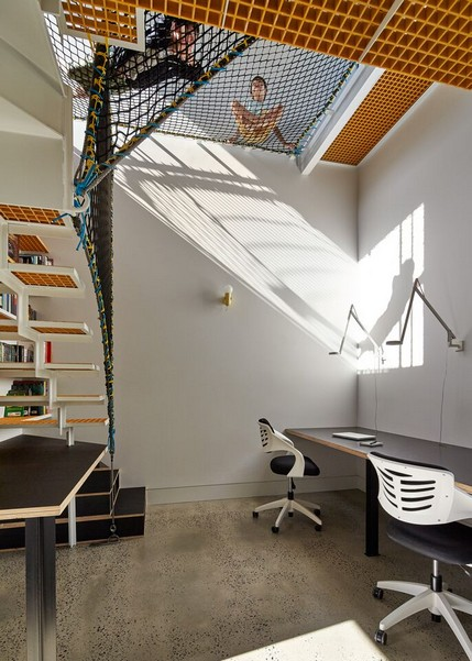 design-estate Designer Living Tower Home by Andrew Maynard Architects Photo Peter Bennetts 21