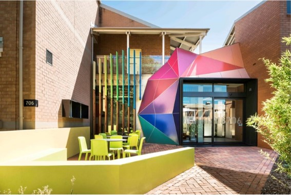 Curtin University by Wilkes Architects. Photo Joel Barbitta D-Max Photography