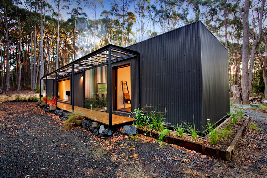 Australian Bushfire Proof Modular Homes Bushfire Proof Modular Homes Smart Modular Homes Affordable Modular Homes Affordable Australian Homes Ecoliv Modus Architects Mode Home Modscape Home Bal 40 Bal Fz Bal Ratings Australia